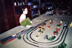 Kolejiště v obýváku 1