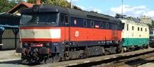 Regionální den železnice Praha-Braník